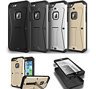 Three Anti-Belt Holder Phone Case for iPhone 6Plus/6S Plus(Assorted Colors)