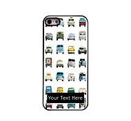 Personalized Gift Lovely Car Design Aluminum Hard Case for iPhone 5/5S