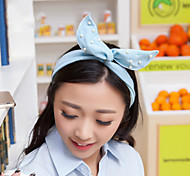 Fashion Blue Fabric Hair Band For Women(Blue)(1Pcs)