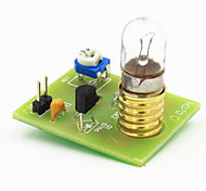 Bidirectional Silicon Controlled Dimmer Dimming Board Module w/ Bulb - Green + Black