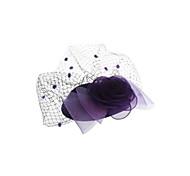 Women's Cloth Flower Mini Hat Hair Fascinator Accessory Party Fashion