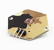 foto a cores do módulo sensor resistor camo para arduino
