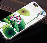 New Fashion 3D Beauty Flower Colorful Totem Cartoon Case for iphone 4S