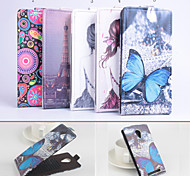 Protective PU Leather Magnetic Vertical Flip Case for THL T6S(Assorted Colors)