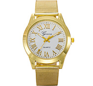 L.WEST Men's Stainless Steel Quartz Watch