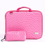 "laptop bag rosa PU per macbook sotto 11 ""13"" taglia 15 """