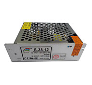 AC110/220V Input Non Waterproof Switching Power Supply Driver with DC12V3.2A 38W Output