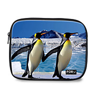 "For U Designs 10"" Parent-Child/Penguin Laptop Sleeve Case for Ipad"