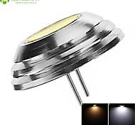 4 x G4 GU4 GZ4 MR11 2W COB LED 180LM  White / Cold White / Warm White Lamp Spotlight Spot Light Bulbs Cool White DC12V
