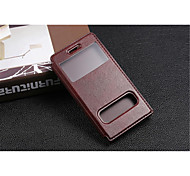 InternatiOnal Version Of The Pu Leather Specially Designed Body Open The Window For Huawei G6 (Assorted Color)