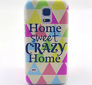 Warm Home Pattern PC Hard Case for Samsung Galaxy S5 Mini