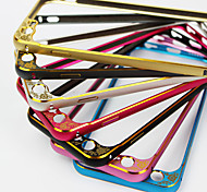 Iphone 6 Plus 5.5-Inch relief scalloped metal frame to protect the lens arc metal frame S-0010-3