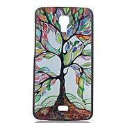 cor caixa do telefone árvores material padrão pc para Wiko flor
