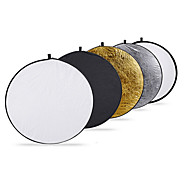 INTERFIT 60cm 24-Inch 5-in-1 Collapsible Multi-Disc Light Reflector