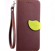 Luxury Leather Skin Card Holder Stand Magnetic For HTC Desire 820 Phone Flip Cases Shell Leaf Pouch Wallet + Lanyard