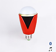 Haozo Bluetooth App Control Music Playing LED Bulb with Audio Speaker - Dimmable Multicolored Color Changing LED Lights