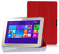 IVSO Toshiba Encore 2 WT10-A32 / A64 10.0-Inch windows 8.1 tablet ultra-thin Smart Cover Case (Red)