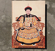 Chinese Tradition Qianlong Emperor, Pattern Rice paper framed Notabook/Gift