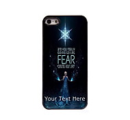 Personalized Gift Are You Ready Design Aluminum Hard Case for iPhone 5/5S