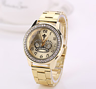 2015 New Fashion  Woman watches New gold silver rose gold color watch Brand watches for women Geneva watches