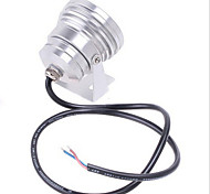 10W 900LM 6000K Cool White RGB  LED Underwater Light (12V)