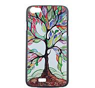 cor caixa do telefone árvores material padrão pc para Wiko lenny