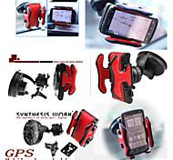 apoyo gps titular multifuncional marco de teléfono plataforma de navegación móvil utilizado en el coche para el teléfono, mp4