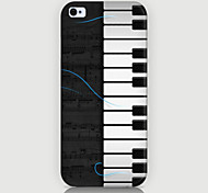 The Piano Pattern Case Back Cover for Phone5/5S Case