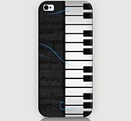 Дело фортепиано шаблон телефон обратно охватывают дело для iphone5c