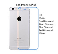 10PCS For iPhone 6 Plus 5.5'' Back Side HD Transparent Screen Protector Film