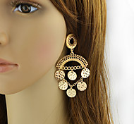 New Coming Cheap Women Gold Plated Antique Style Chandelier Earrings