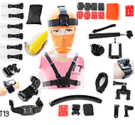 Accessories For GoProSmooth Frame / Monopod / Gopro Case/Bags / Screw / Suction Cup / Adhesive Mounts / Straps / Hand Grips/Finger