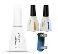 Azure 3 Pcs/Lot Chameleon Temperature UV Gel Soak-off Nail Polish Set(#47+BASE+TOP)