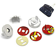 """10 Sets Metal Bag Sewing Magnetic Clasp Buttons 0.7"""" HOT"""