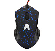 6 tasti 800/1200 / 1600dpi neve punto luce gaming mouse wired