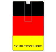 Personalized USB Flash Drive German Flag Design 32GB Card USB Flash Drive