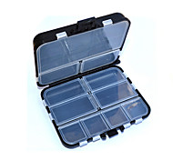 Multifuntional Transparent Plastic Waterproof  Storage Box Fishing Box
