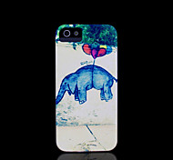 olifant patroon dekking voor iphone 4 case / iphone 4 s case