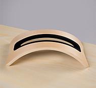 novo caso marrom para laptop Apple MacBook 15 ar suportes de madeira computador usando laptop stand de madeira