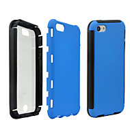 2 in1 Hybrid High Impact Hard Silicone Case for iPhone 5C  (Assorted Color)