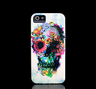 schedel patroon dekking voor iphone 4 case / iphone 4 s case