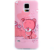 For Samsung Galaxy Case Pattern Case Back Cover Case Cartoon TPU Samsung S5
