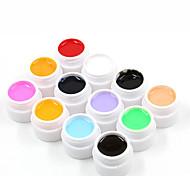 Conjuntos de unhas de gel puro kits de cor (12pcs * 8ml)