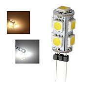 3W G4 Luces LED de Doble Pin 9 SMD 5050 90-100 lm Blanco Cálido / Blanco Fresco AC 12 V 1 pieza
