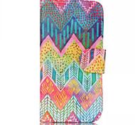 kleur golf patronen patroon retro kwaliteit PU materiaal case voor iPhone 6