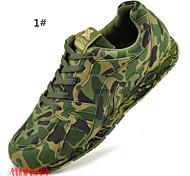 Camo Unisex Running Shoes Couple Running Shoes Light Running Shoes Anti-Slip/Cushioning/Wearproof Shoes