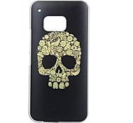 Skull Special Design Cover Back Case Plastic for HTC  M9