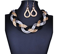 Xu™ Women's Necklace Earrings Suit