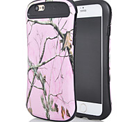 a nova combinação para iphone6plus óleo leve design da vara pequeno mangue cintura shell telefone móvel