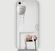 Good Sleeping Cat Pattern Case Back Cover for Phone6 Case